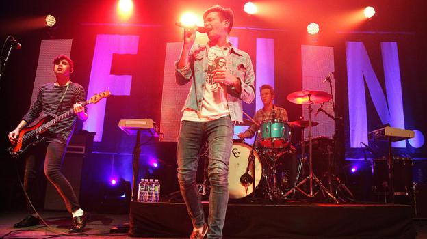fun. perform at the 9:30 Club in Washington, D.C. (NPR)
