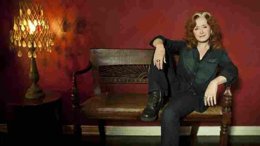 Bonnie Raitt's new album is titled Slipstream.