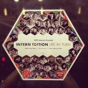 "Intern Edition design and multimedia teams collaborated to create the ""Intern Edition: Life in Turn"" promotional posters."