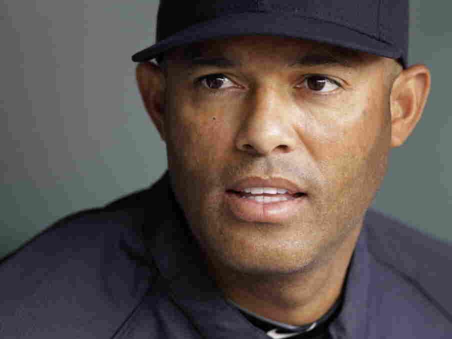 New York Yankees pitcher Mariano Rivera, earlier this season.