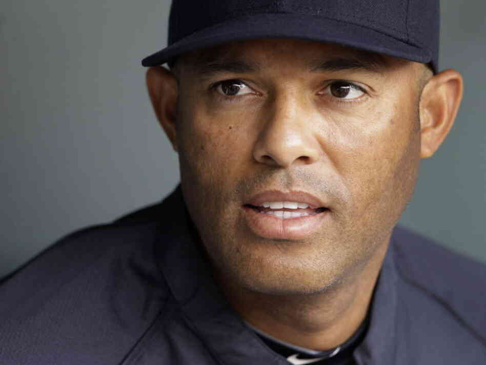 New York Yankees pitcher Mariano Rivera, earlier this season.