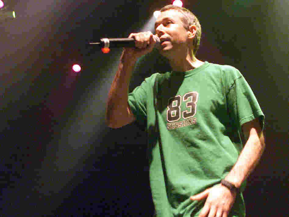 Adam Yauch of the Beastie Boys during a 2001 performance in New York City.