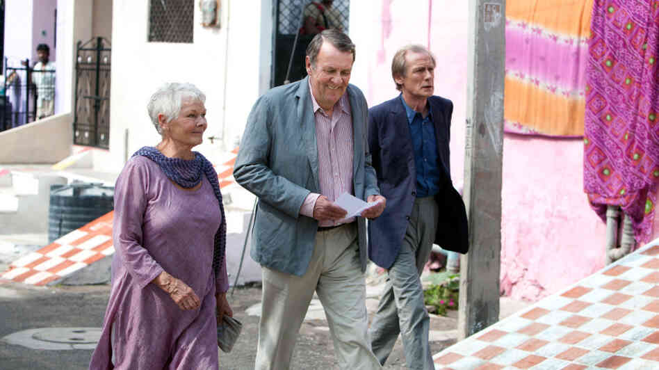 Judi Dench, Tom Wilkinson and Bill Nighy play British retirees in residence at the Best Exotic Marigold Hotel. While advertisements promised a life of leisure in a newly refurbished facility, the Brits arrive to find the palace a shell of its former self.