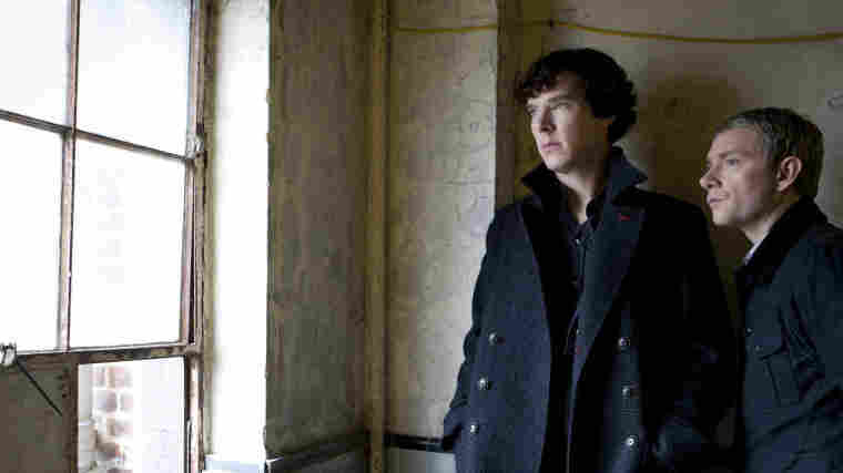 Benedict Cumberbatch (left) plays Sherlock Holmes alongside Martin Freeman's Dr. Watson in the BBC's Sherlock, which airs in the U.S. on PBS. He'll take on the role of Smaug the dragon in The Hobbit, and play a villain in an upcoming Star Trek film.
