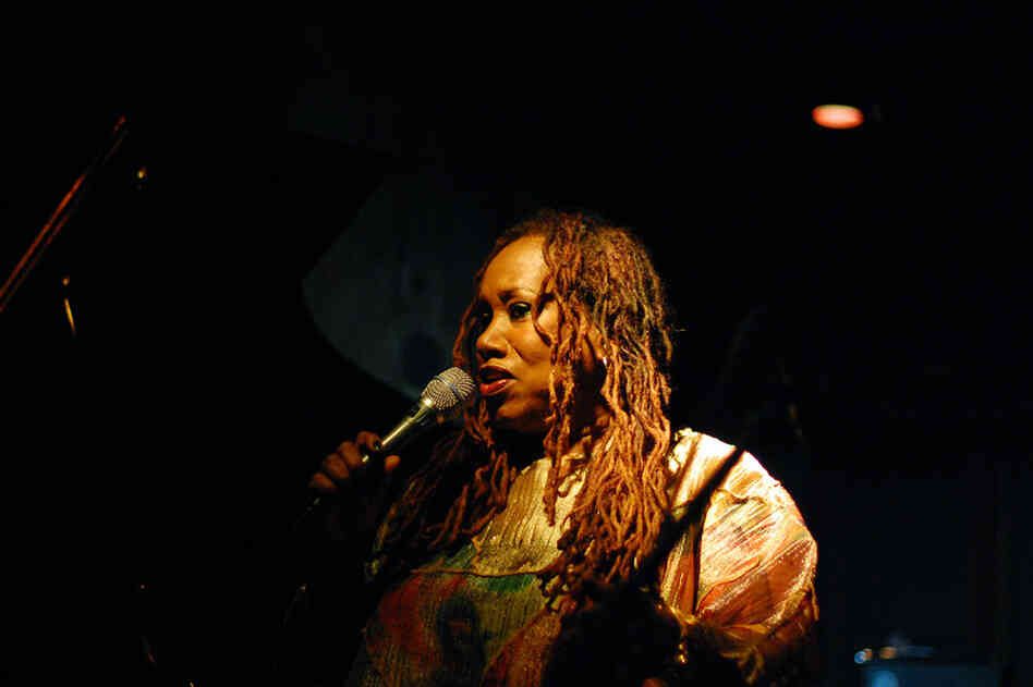 Vocalist Denise King performed at Chris' Jazz Cafe.