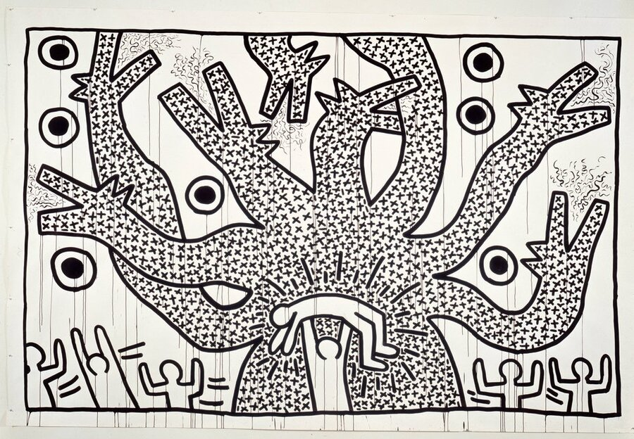 Keith Haring: A Return To His Radiant Roots : NPR