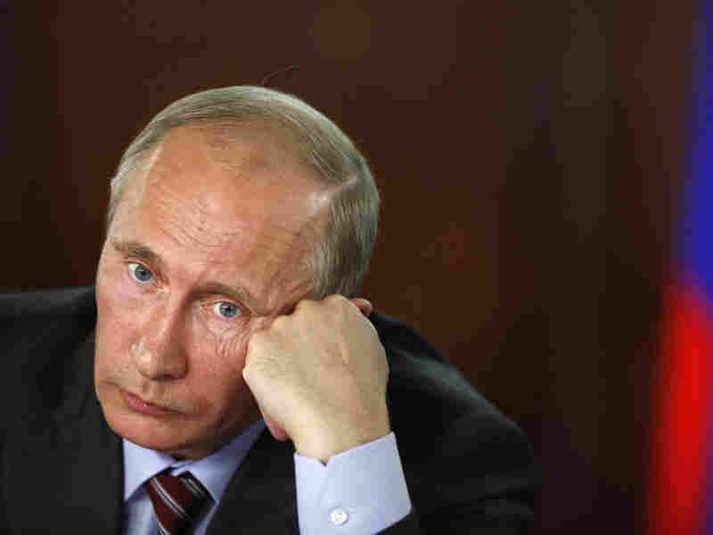 Vladimir Putin, currently prime minister, begins his third term as Russia's president on Monday.