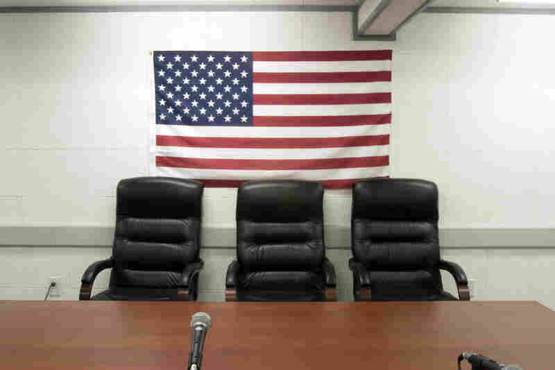 Administrative Review Board Meeting Room, Camp Delta, 2006