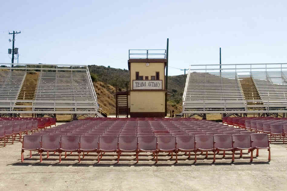 Outdoor Movie Theater, Naval Station, 2006