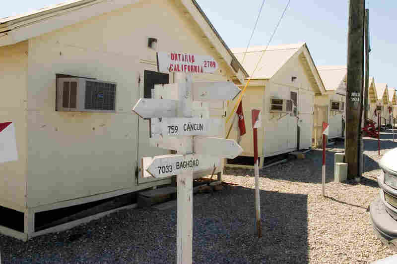 Office Trailers, Camp America, 2006