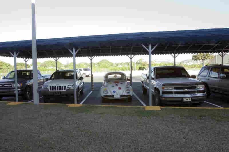 Parking Lot for Officers, Naval Station, 2006