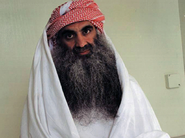 Khalid Sheikh Mohammed and four other defendants accused of the 9/11 attacks refused to cooperate when they went before a military commission in Guantanamo Bay, Cuba, on Saturday.