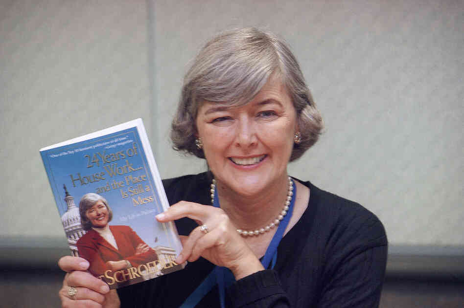 Former Rep. Pat Schroeder, D-Colo., now 71, authored a book about her 24 years in Congress, as shown in 1999. She is now a lobbyist.