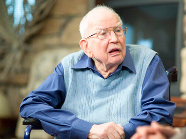 """I'm 101 at the moment,"" Ronald Coase said."