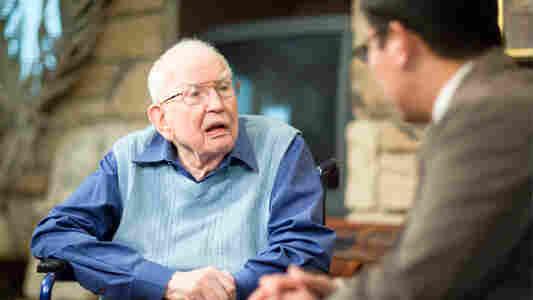 """""""I'm 101 at the moment,"""" Ronald Coase said."""