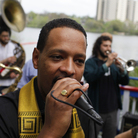 Debo Band performs in Austin, Texas, during South by Southwest.