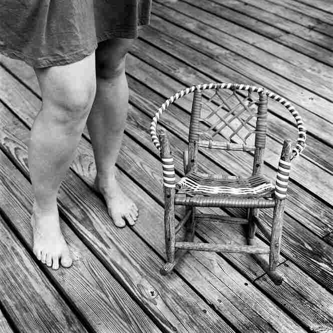 """Charlotte's Chair: """"Images like this one are open to interpretation,"""" Hamrick says."""