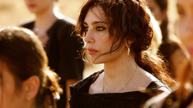 Filmmaker Nadine Labaki plays the lead role of Amale, a widow who organizes women in a Lebanese village to help tamp down flaring sectarian tensions, in