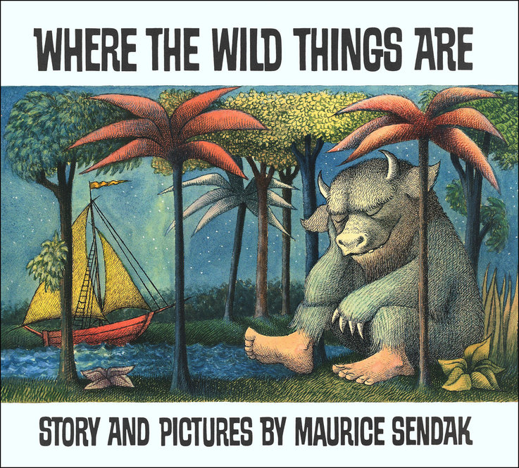 Published in 1963, Where The Wild Things Are was a different approach to children's books -- full of dark forests and fierce-looking monsters.