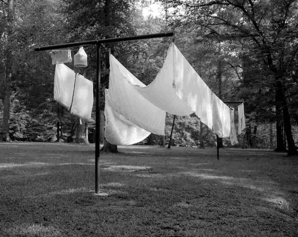 "Clothesline, from Hamrick's series ""Hideaway"" — which is the name his father gave to their Georgia home."