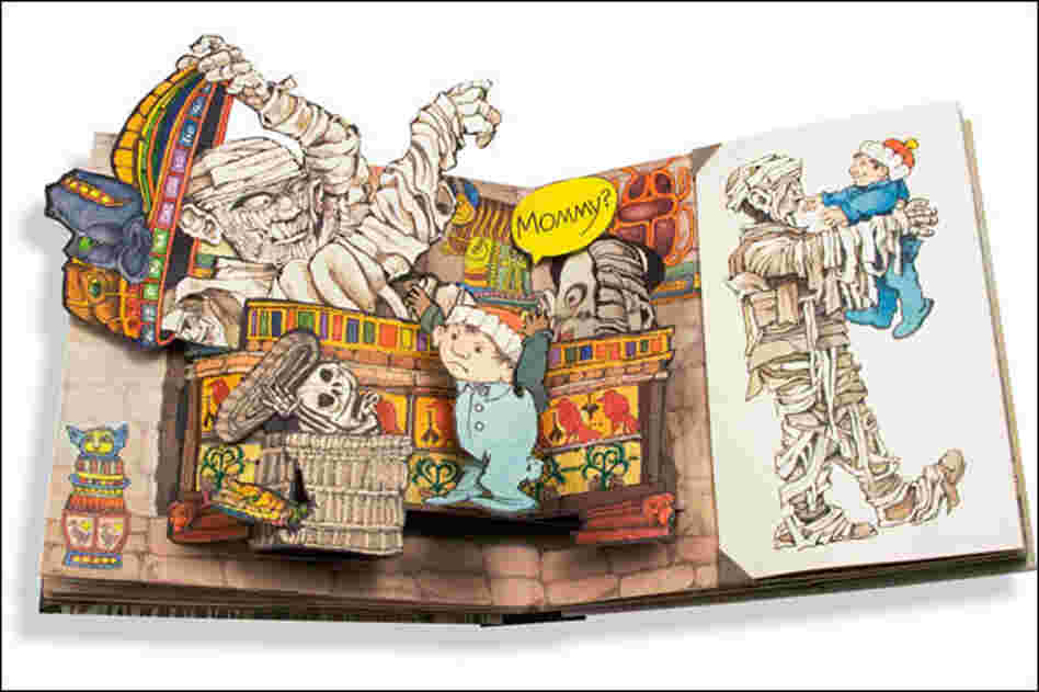 """Childhood is a very, very tricky business,"" Sendak said. It was a theme he carried throughout his work. Above, his 2006 pop-up book, Mommy?"