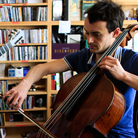 Pedor Soler and Gaspar Claus perform a Tiny Desk Concert at the NPR Music offices.