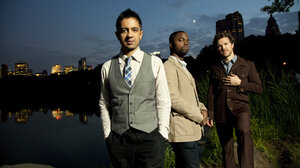 The Vijay Iyer Trio.
