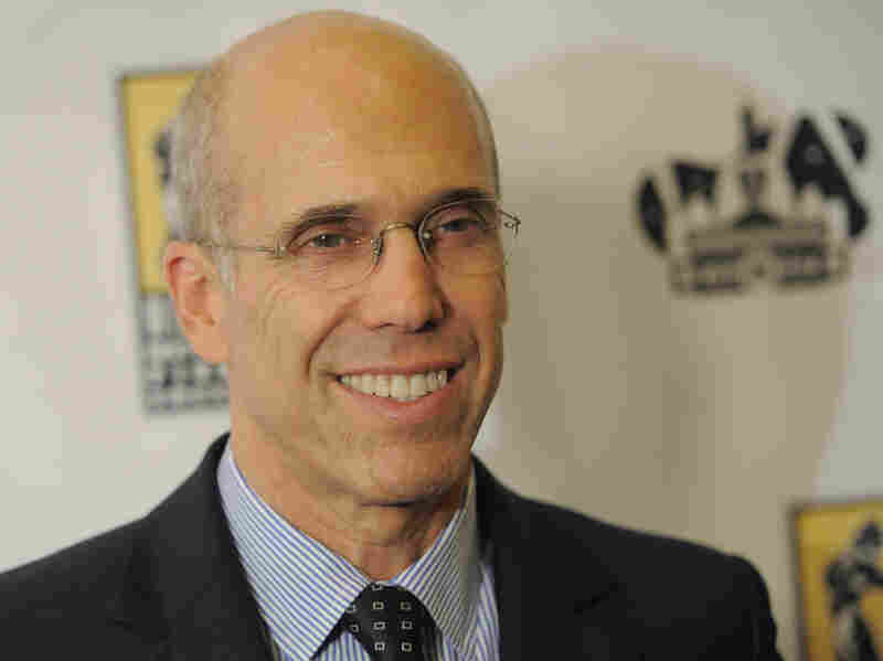 Dreamworks Animation CEO Jeffrey Katzenberg, shown at CinemaCon 2012, has donated $2 million to the pro-Obama superPAC Priorities USA Action.