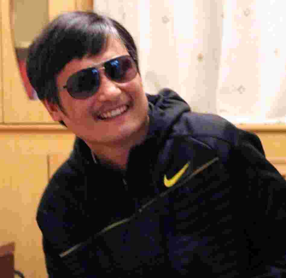 Chen Guangcheng, in an undated photo.