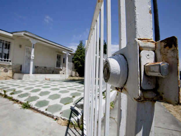 A foreclosed home in Los Angeles. More than 4 million homeowners nationwide are eligible for an independent review of their foreclosure process, but only a small percentage have applied to the program.