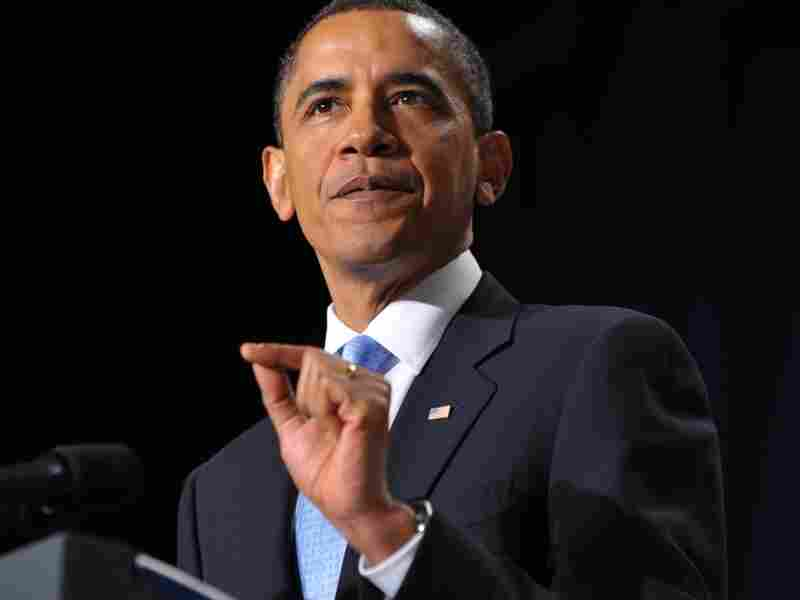 """President Barack Obama speaks during the 58th US National Prayer Breakfast February 4, 2010 where he denounced as 'odious' a proposed anti-gay law in Uganda. The President has famously said that his personal views on gay marriage are """"evolving."""""""