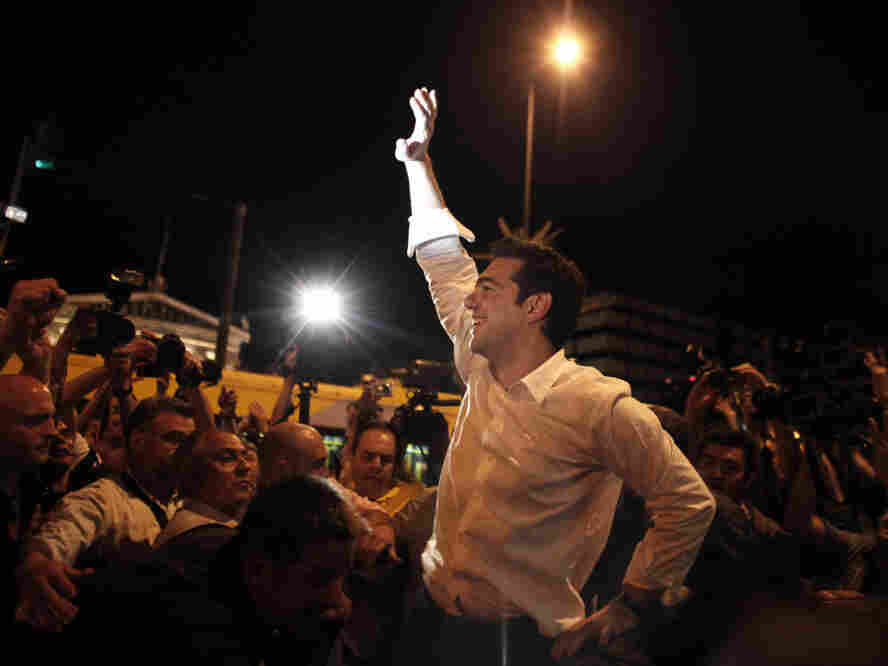 """""""The popular verdict clearly renders the bailout deal null."""" -Alexis Tsipras"""