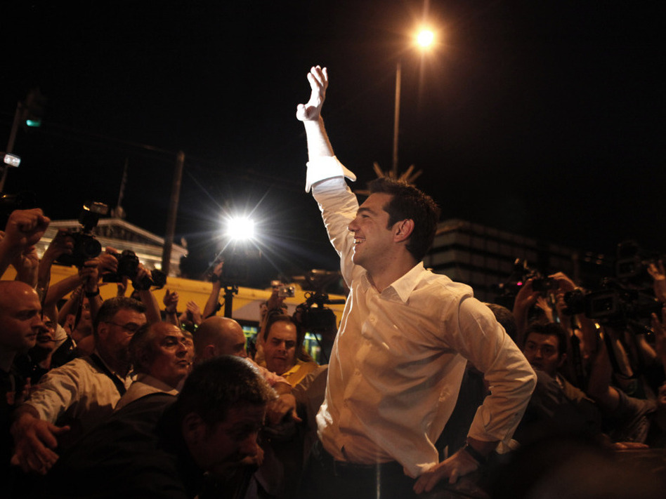 """The popular verdict clearly renders the bailout deal null."" -Alexis Tsipras"