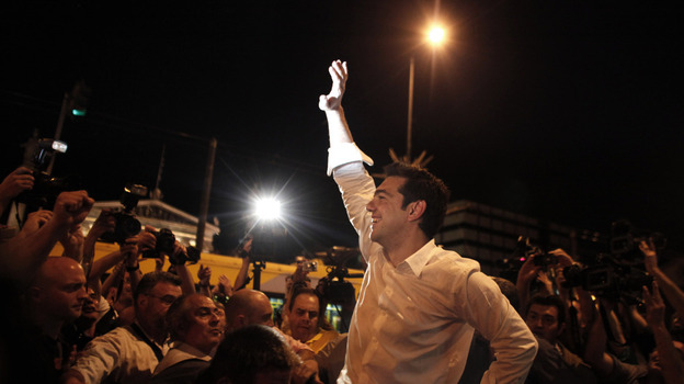 """The popular verdict clearly renders the bailout deal null."" -Alexis Tsipras (AP)"