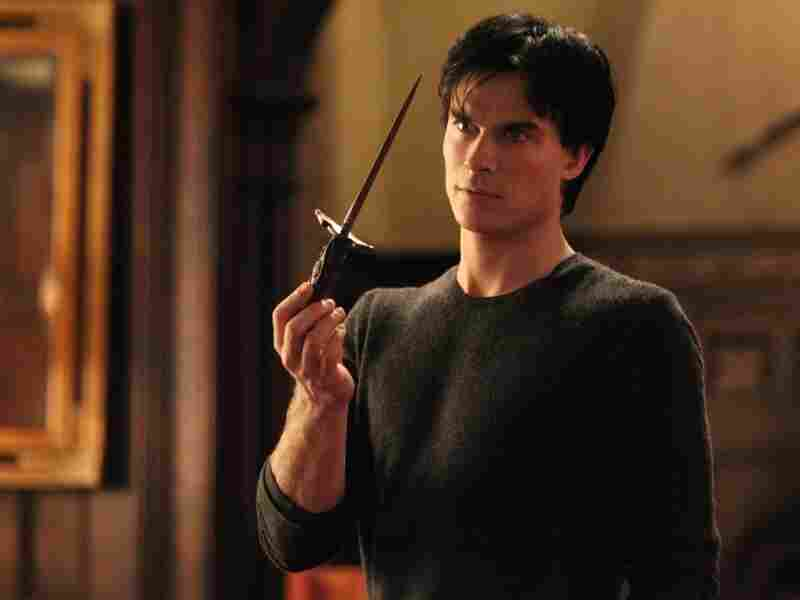 Ian Somerhalder plays the charming and dangerous Damon Salvatore on The Vampire Diaries, a gothic soap opera that shares some similarities with Dark Shadows.