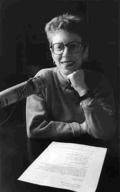Terry Gross in the studio, 1994.