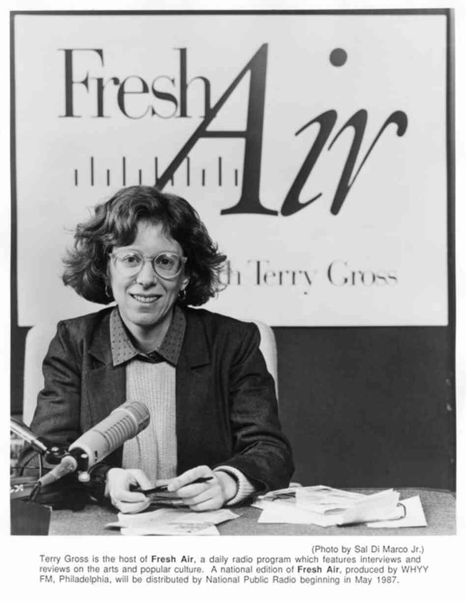 Terry Gross in 1987 as Fresh Air begins national distribution on NPR.