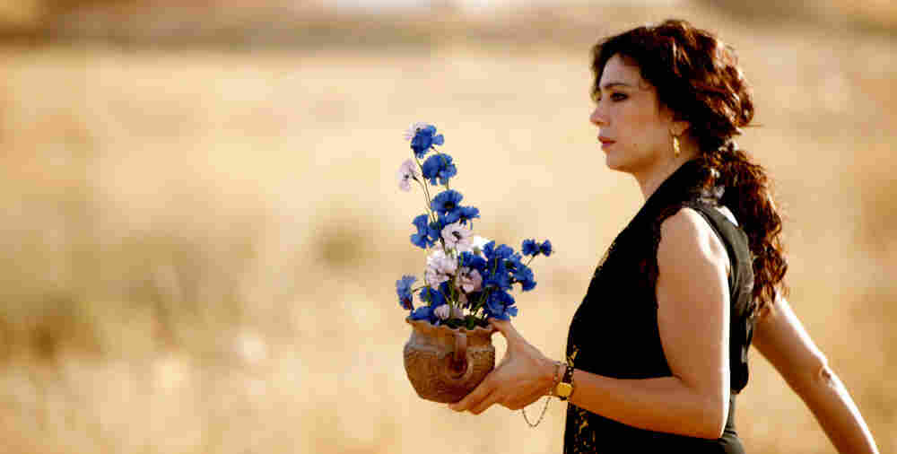 Muslim and Christian women team up to try everything imaginable to distract their men from war in the Lebanese film Where Do We Go Now? Director and actress Nadine Labaki plays the lead role of Amale.