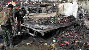 Syrian Bomb Blasts Kill At Least 50