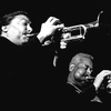 Arturo Sandoval and Dizzy Gillespie on tour in Europe in 1991. Sandoval's new album, Dear Diz (Every Day I Think of You), is a tribute to his friend and mentor.