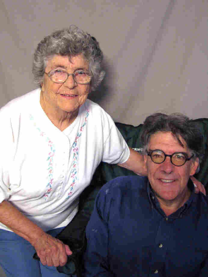 Dennis McLaughlin interviewed his mom, Theresa, at StoryCorps in Portland, Maine, to thank her for how she raised him.