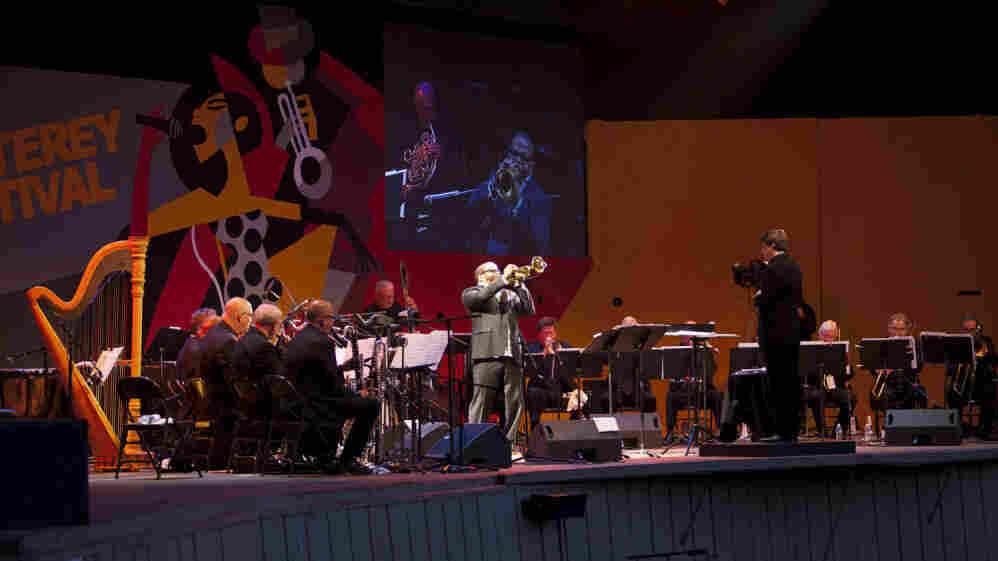 Terence Blanchard plays the role of Miles Davis' trumpet with commitment and emotion at Monterey.