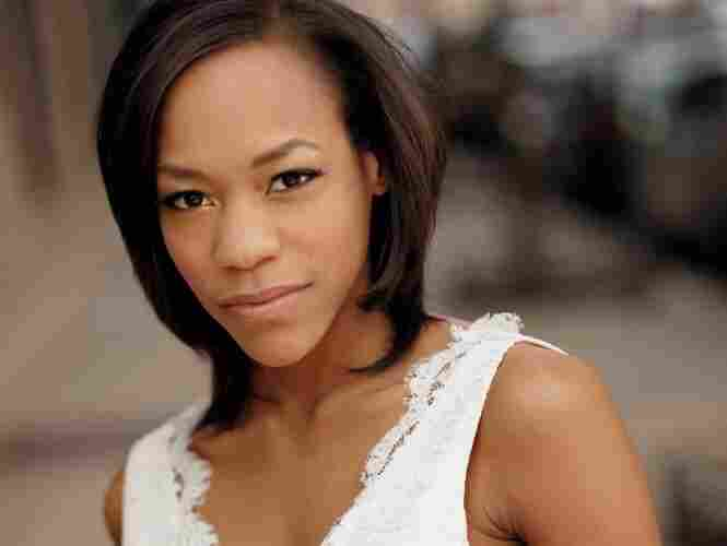 Nikki M. James says she grew up listening to Andrew Lloyd Webber and admits she's seen Rent more than 30 times.