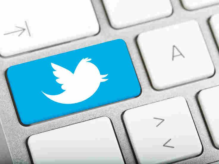 Twitter keyboard.