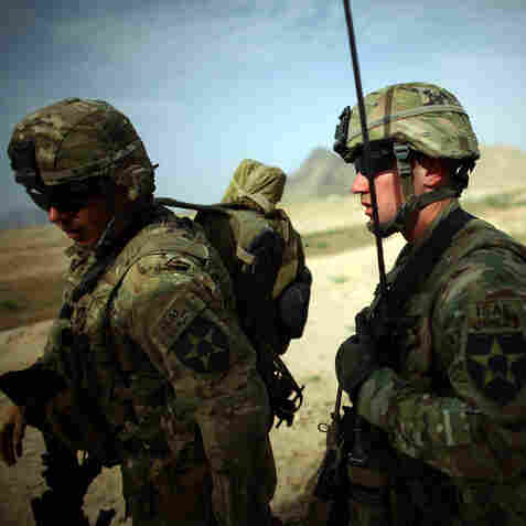 U.S. Military Mission: Pushing Afghans To Take Lead