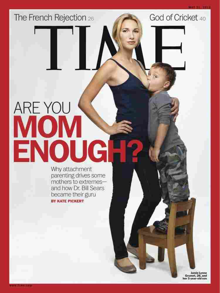 The cover of the May 21, 2012, issue of Time.