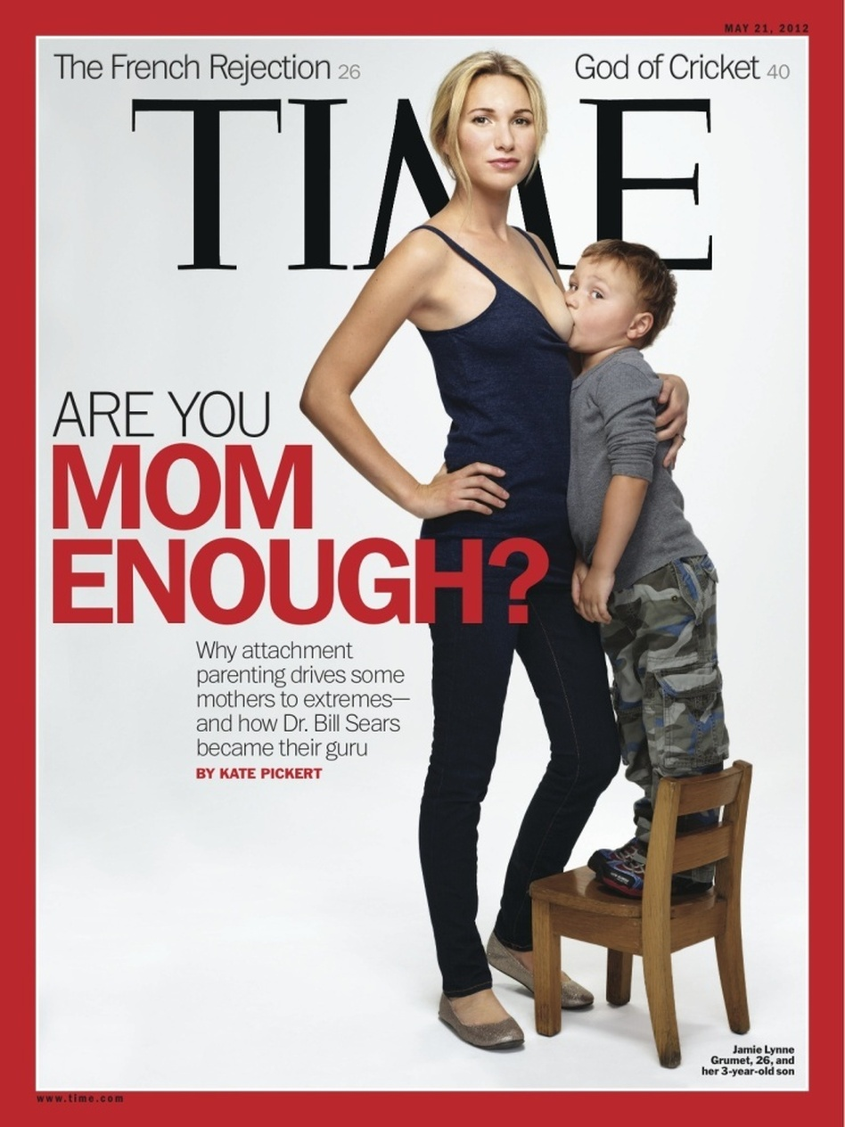 The cover of the May 21, 2012, issue of <em>Time</em>.