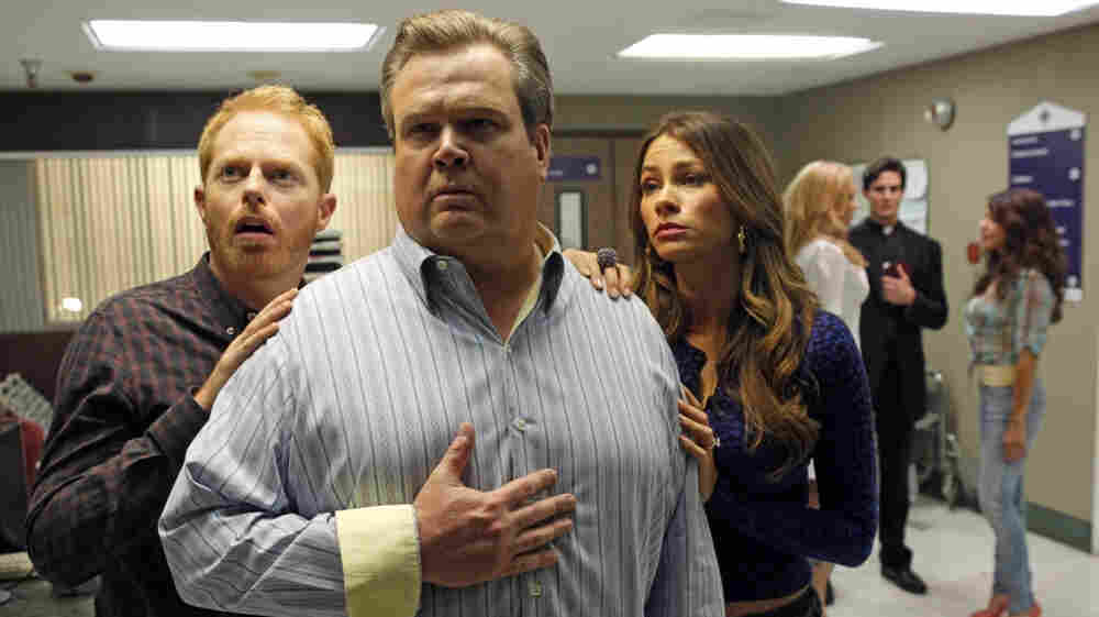 The hit TV show Modern Family features a gay couple trying to adopt their second child.