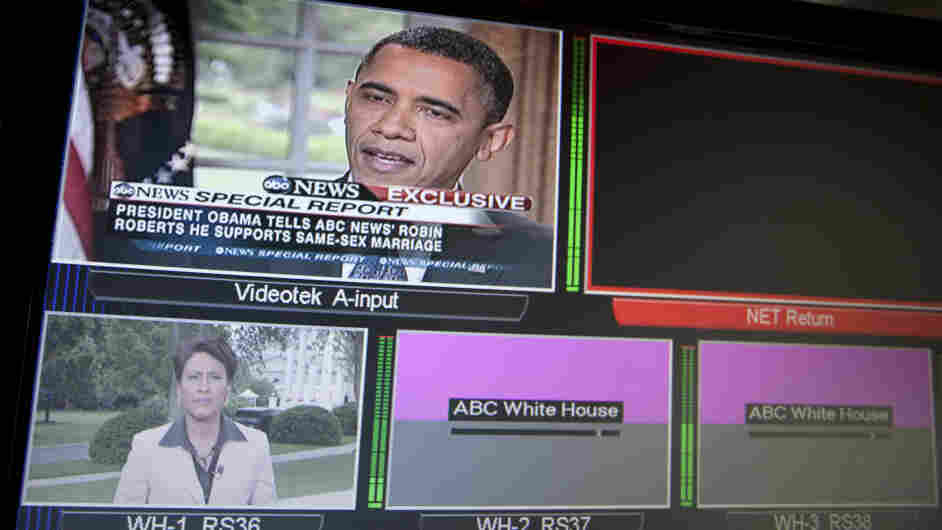 President Barack Obama told ABC this week that he supports gay marriage.
