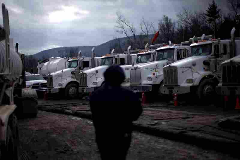 Trucking is one of the most expensive parts of fracking and companies are looking to replace some transport routes with pipelines.